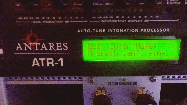 Antares Vocal Processor Funny Patch Edit