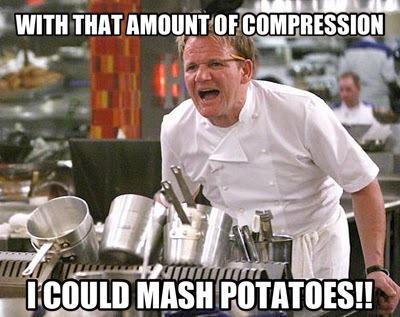 Audio Compression For Potatoes