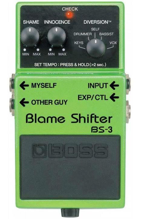 Boss Pedal Blame Shifter
