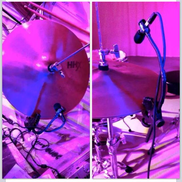 Mic on Cymbals Wrong
