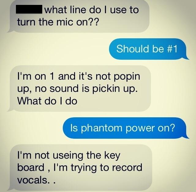 Phantom Power Synth Keyboard