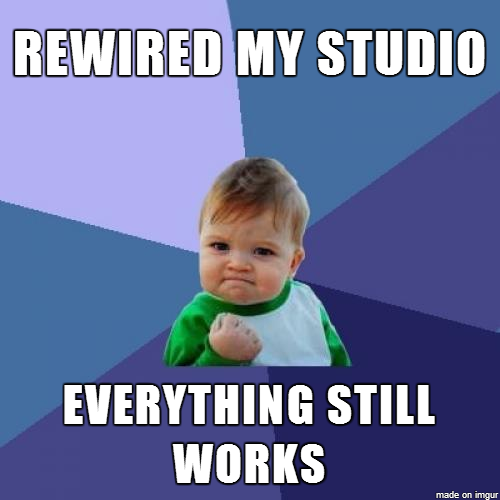 Rewired Home Studio FTW