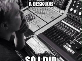 Mixing Desk Job
