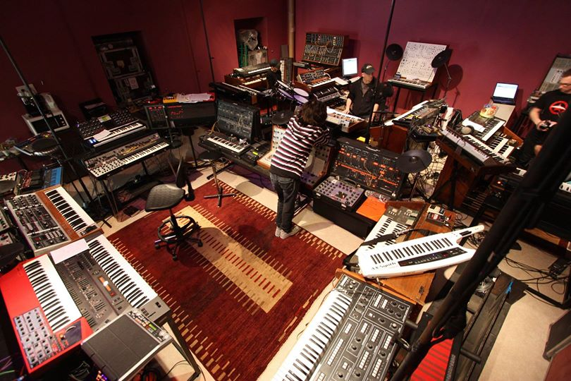 Jean Michael Jarre Synthesizer Lair