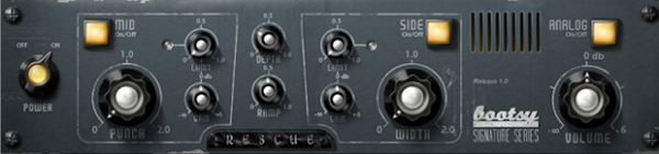Variety of Sound Audio Plugin Rescue Control Panel Image