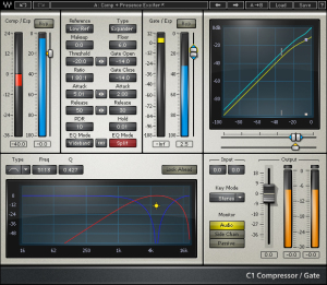 Waves C1 Compressor Expander Gate Audio Plugin Photo
