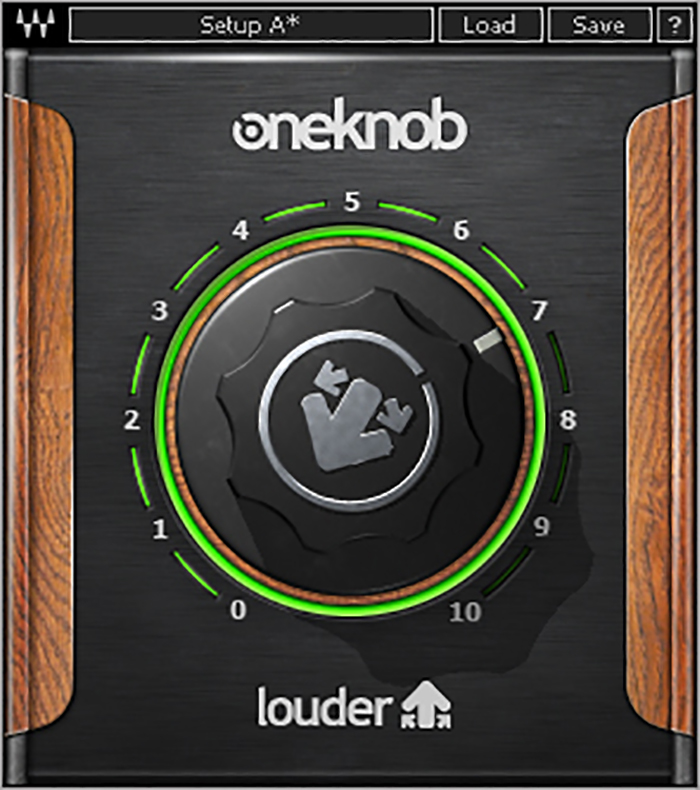 Waves Audio Plugin One Knob Louder Image