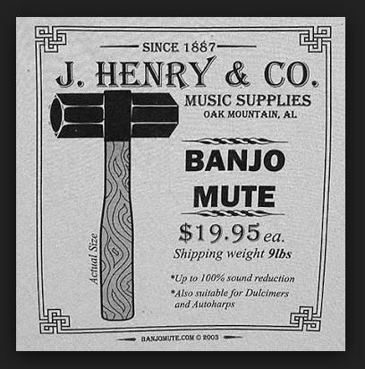 Banjo Mute