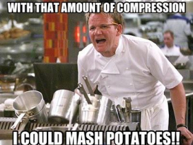 Audio Compression For Potatoes