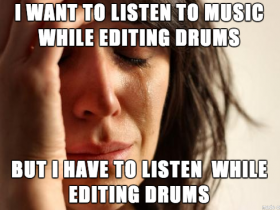 1st World Drum Editing