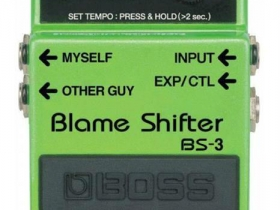 Boss Pedal Blame Shifter