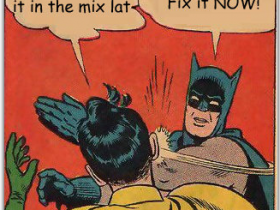 Fix It In The Mix Batman