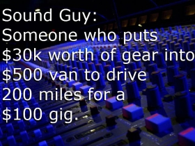 Sound Guy Joke