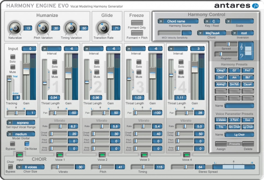 Antares Auto-Tune Harmony Engine Evo only $59! ($249)