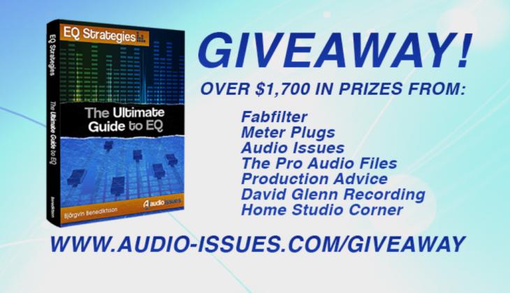 Win $1,700 in Audio Tutorials & Audio Plugins [EXPIRED]