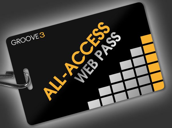 Free 30 Day All Access Pass to Groove3.com Audio Training until July 31st
