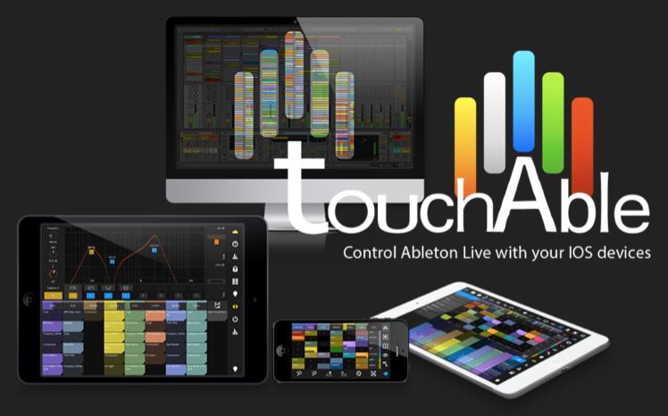TouchAble iOS App Controls Ableton Live Screen Shot