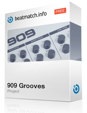 BeatMatch Project Roland TR-909 Grooves Box Image