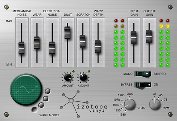 iZotope Vinyl Audio Plugin – The Ultimate Lo-Fi Weapon [FREE]