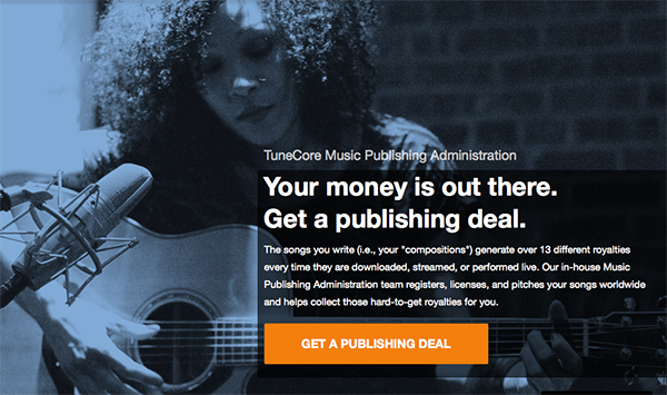 TuneCore Digital Music Distribution Service Image