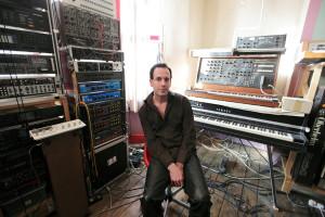 Ulrich Schnauss MIDI Keyboard Studio Tour Photo
