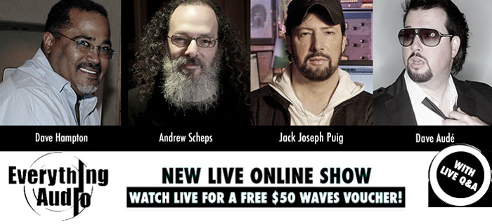 Waves Everything Audio Live Online Show Photo