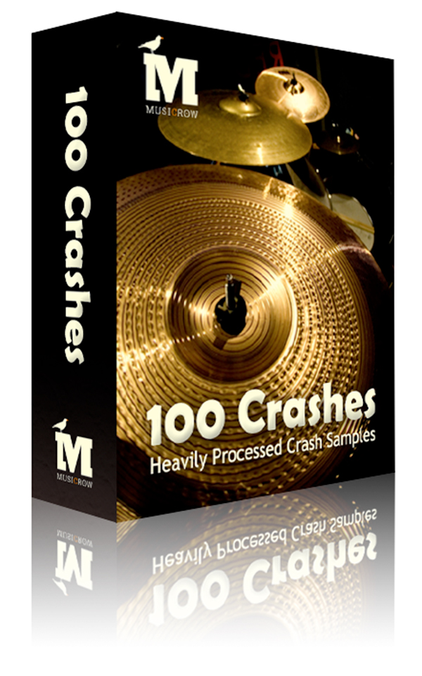 100 Free Crash Cymbal Audio Samples