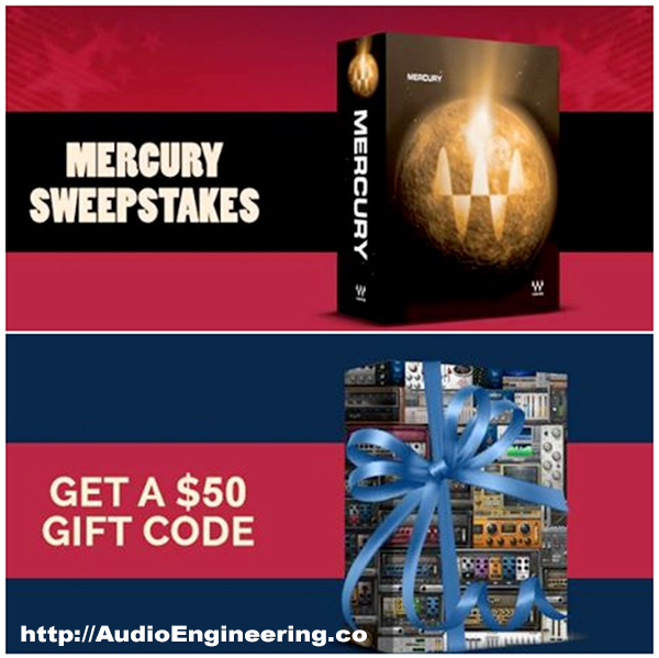 Waves Audio Mercury Sweepstakes – [EXPIRED]