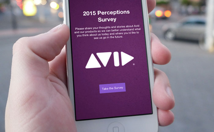 Avid 2015 Survey Image