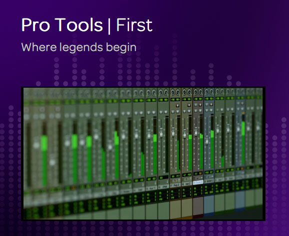 Avid Pro Tools First Digital Audio Workstation Daw Screen Shot
