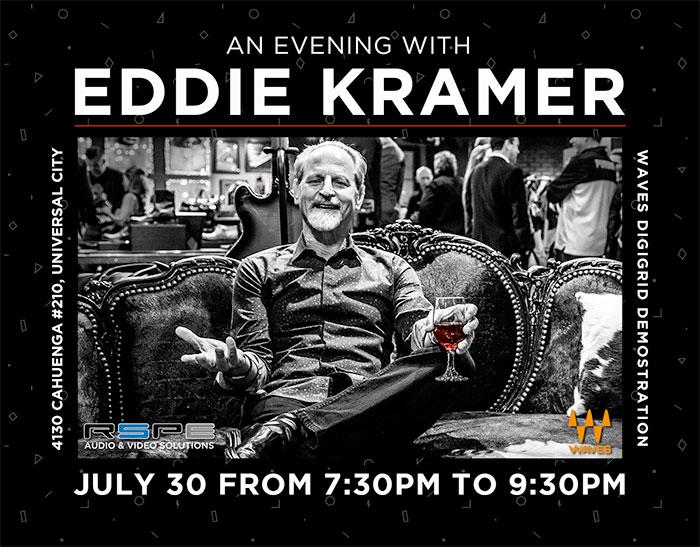 An Evening with Legendary Producer Eddie Kramer Photo