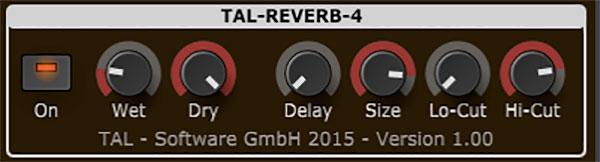 TAL Reverb4 Audio Plugin By Togu Audio Line FREE!