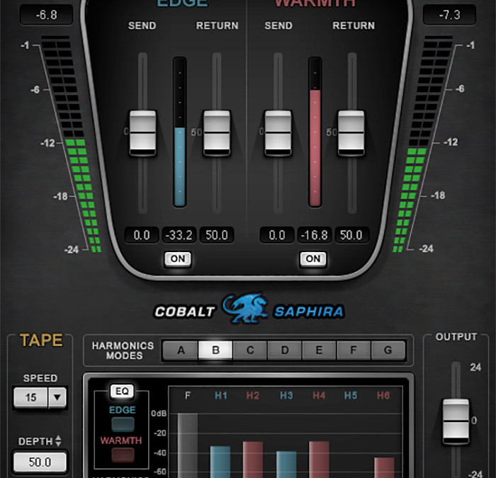 Waves Cobalt Saphira Harmonic Enhancer Audio Plugin