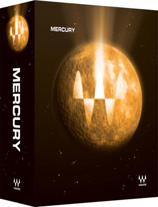 Waves Mercury Audio Plugin Bundle Box Shot