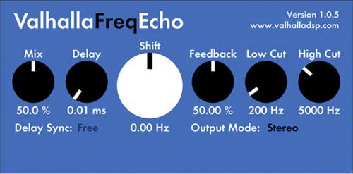 Valhalla Freq Echo - Free